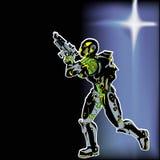 Морской пехотинец космоса Стоковые Фотографии RF