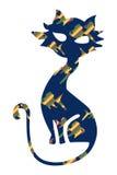 морской пехотинец кота Стоковые Изображения