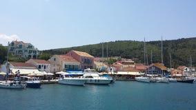 Морской порт в Греции Стоковая Фотография RF