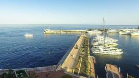 Морской порт Монте-Карло, Монако акции видеоматериалы