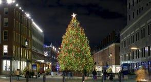Морской порт улицы рождества южный стоковая фотография rf
