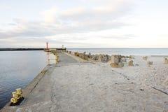 Морской порт Стоковое Изображение