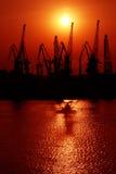 морской порт Стоковые Изображения RF