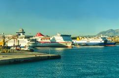 Морской порт стоковая фотография