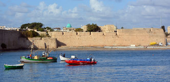 Морской порт Akko Стоковая Фотография RF