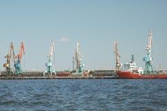 морской порт baku Стоковая Фотография