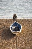 морской порт dorset Англии свободного полета bridport юрский Стоковое фото RF