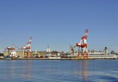 Морской порт Halifax Стоковое фото RF
