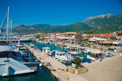 Морской порт Nidri, Греция Стоковое фото RF