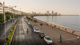 Морской привод Мумбай стоковые фотографии rf