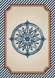 Морской плакат Стоковые Фото