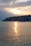 морской старый городок Стоковое Фото