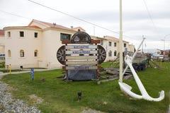Морской, тюрьма и антартический музей в Ushuaia, Аргентине стоковые фото