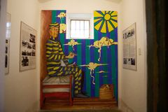 Морской, тюрьма и антартический музей в Ushuaia, Аргентине стоковые изображения