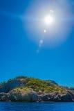 Морской утесистый залив Стоковое Фото