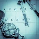 Морской формат квадрата навигации стоковое изображение