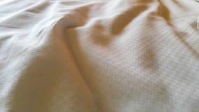 Морщинки белых листов Стоковые Изображения RF