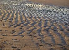 Морщинки в песке Стоковые Фото