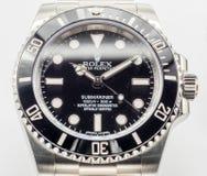 Моряки подводной лодки Rolex на белой предпосылке Стоковые Фото