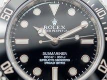 Моряки подводной лодки Rolex на белой предпосылке Стоковое Изображение RF