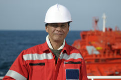 моряки boatswain стоковая фотография rf