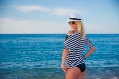 моряк девушки Стоковая Фотография RF