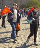 Москва, день победы праздника Стоковое Изображение RF