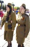 Москва, день победы праздника Стоковые Фото