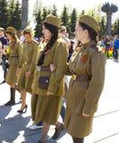 Москва, день победы праздника Стоковая Фотография