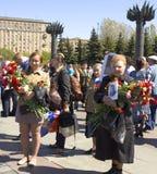 Москва, день победы праздника Стоковое фото RF