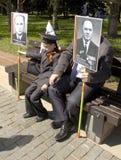 Москва, день победы праздника Стоковые Фотографии RF