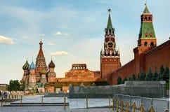 Москва, красная площадь Стоковое Изображение