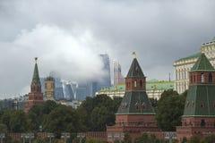 Москва, Кремль, город Стоковые Изображения