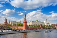 Москва Кремль, Российская Федерация Стоковая Фотография