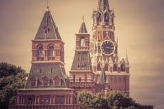 Москва Кремль в России Стоковые Изображения RF