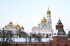 Москва Кремль Стоковая Фотография
