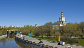 Москва, монастырь Spaso-Andronikov Стоковое Изображение RF