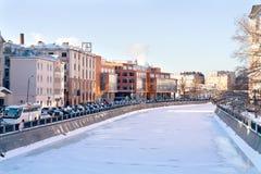 Москва, муниципальный ландшафт Стоковая Фотография
