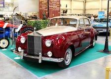 МОСКВА - 9-ОЕ МАРТА: Вариант 195 облака i Radford Rolls Royce серебряный Стоковые Фотографии RF