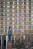 МОСКВА, РОССИЙСКАЯ ФЕДЕРАЦИЯ - 14 04 2015: памятник к Чарльзу de Стоковые Фотографии RF