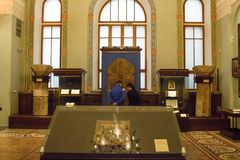 МОСКВА; РОССИЯ - музей положения исторический Стоковые Фотографии RF