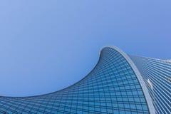 Архитектура зданий города Башня развития стоковые фото