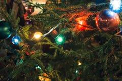 Москва, Россия - 1-ое декабря 2016: украшенный красной площадью Нового Года в Москве, и рождеством справедливым Стоковое фото RF