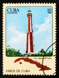 МОСКВА, РОССИЯ - 15-ОЕ ИЮЛЯ 2017: Штемпель напечатанный в Кубе показывает Ca Стоковые Фото