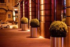Москва, Россия, 22-ое июня, изумительно красивая улица города 2005 архитектурноакустически коробок искусства зодчества красивейши стоковая фотография