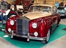 МОСКВА, РОССИЯ - 9-ОЕ МАРТА: Облако i Radford Edi Rolls Royce серебряное Стоковое фото RF