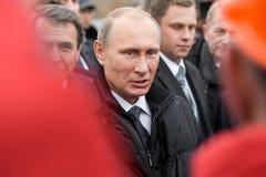 Москва, Россия - 24-ое ноября 2015: Владимир Путин Стоковые Изображения RF