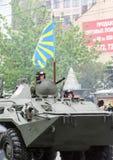 05 09 2012, Москва, Россия Торжество дня ` s победы Парад специального оборудования стоковое изображение