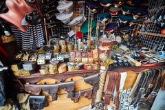 Москва - 22 04 2017: Рынок на Izmailovsky Кремле, Москве Стоковая Фотография RF