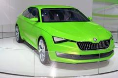 МОСКВА - 29 08 2014 - Салон автомобиля Москвы выставки автомобиля международный Стоковая Фотография RF